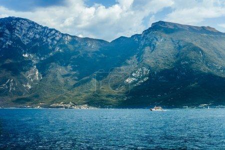 Scenic landscape of Garda lake