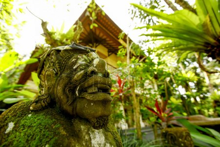 Gardens decorations in Bali, Indonesia