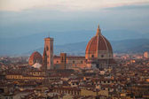 Florence Cathedral at sunset light. Tuscany. Italy.
