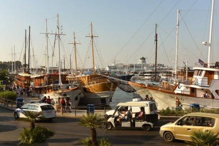 Photo pour Split, Croatie - 19 août 2017 : Port de Split, Croatie . - image libre de droit