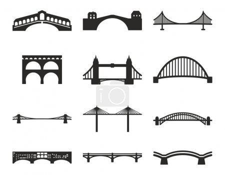 Bridge Icons Black & White