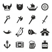 Viking Icons Black & White