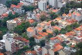 Aerial view of homes in Rio de Janeiro