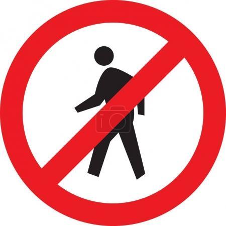 Photo pour N'entrez pas le panneau - Personnel autorisé seulement - image libre de droit