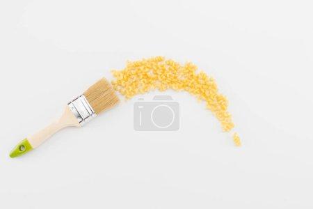 Brush leaves trail of pasta