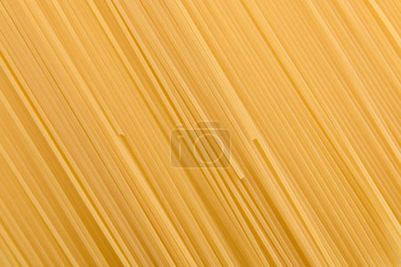 Photo for Full frame of raw vermicelli italian pasta - Royalty Free Image