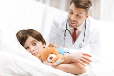 doctor and child patient