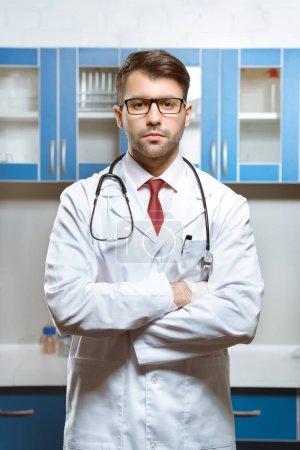 doctor in medical uniform