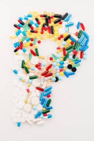 Brief von medizinischen Pillen