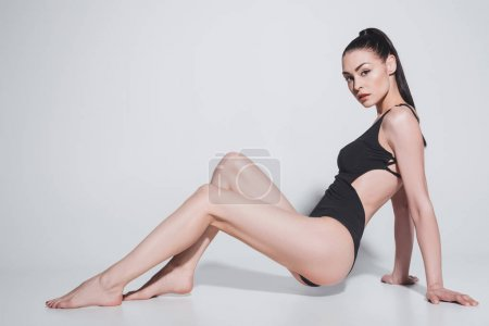 Beautiful woman in swimsuit