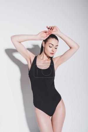 Gorgeous girl in bodysuit