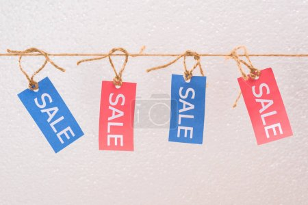 Offer sale tags