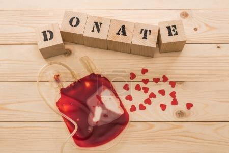 Blood bag for donation
