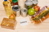 different donation food