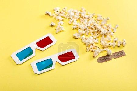 Popcorn und 3D-Brillen