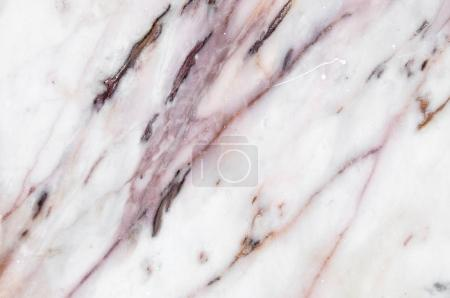 Photo for White marble texture with natural pattern, can be used as background for display or montage your products - Royalty Free Image