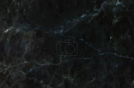 Photo for Dark black marble texture with natural pattern, can be used as background for display or montage your products - Royalty Free Image
