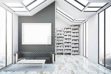 Creative bright library