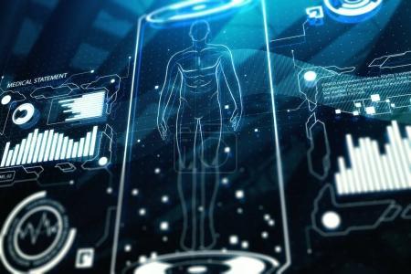 Medical screen texture