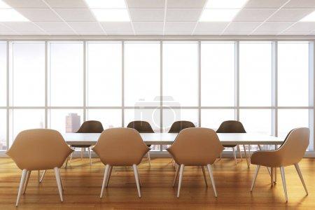Modern meeting room interior
