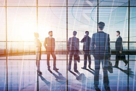Teamwork and employment concept