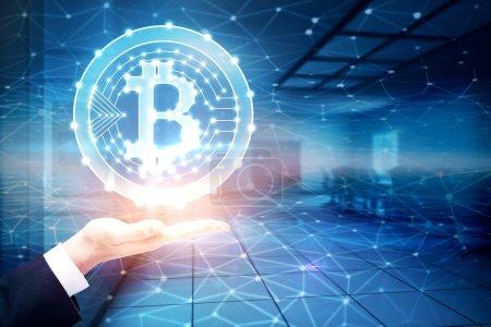 Bitcoin in interior