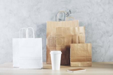 Packaging, market and gift concept