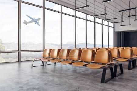 New airport interior