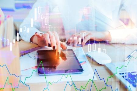 Finance and economy concept