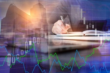 Finance and business concept