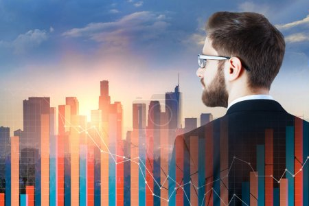 Investment and trade concept
