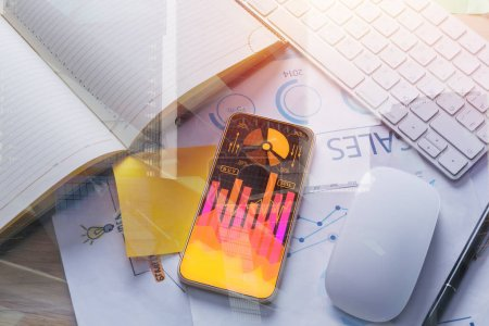 Finance and device concept