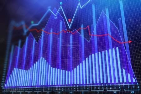 Analysis and economy concept