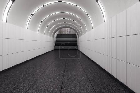 White subway metro