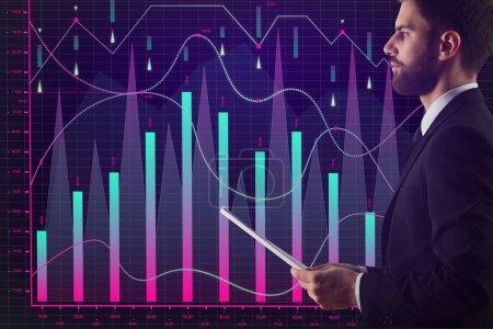 Broker trade and market concept