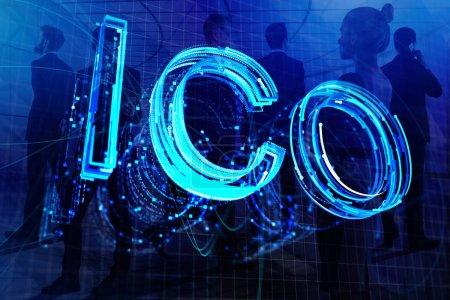 Creative ICO background