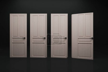 Abstract book door background
