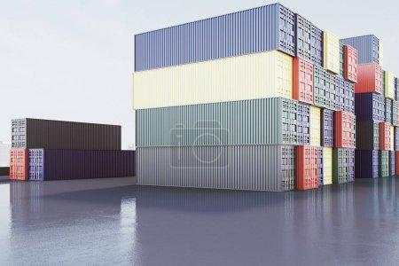 Shipment and dockyard concept