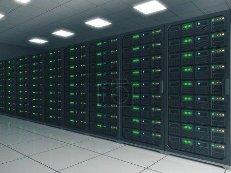 Contemporary server room