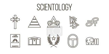 Scientology topic illustration