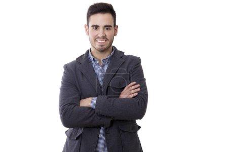 Foto de Retrato de los negocios del hombre sonriente moderna - Imagen libre de derechos