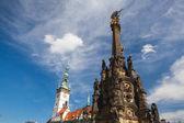 Radnici a sloup Nejsvětější trojice, Olomouc, Česká republika