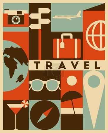 travel vintage banner