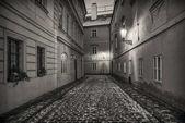 Street Kampa in Prague