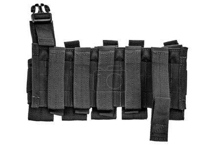 Foto de Llevar armas caso: bolsa cartucho táctico militar hecha de tela de alta tecnología con sistema de conexión rápido, cercano, aislado - Imagen libre de derechos