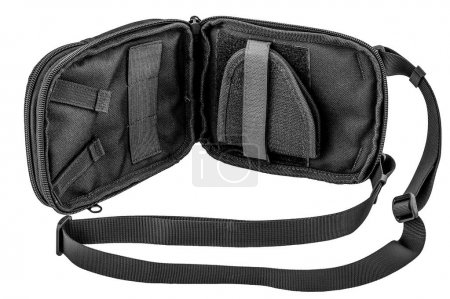 Photo for City tactical bag for concealed carrying weapons without a gun inside - Royalty Free Image