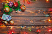 Christmas and New Year home decoration concept