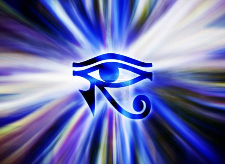 Eye of horus egyptian symbol...
