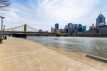 Skyline of Pittsburgh, Pennsylvania from Allegheny Landing from