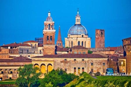 City of Mantova skyline view, European capital of ...